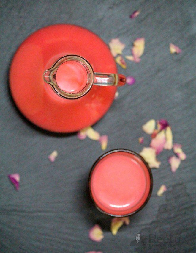 Chabeel (Kachi lassi, Rose Flavored Summer Drink)