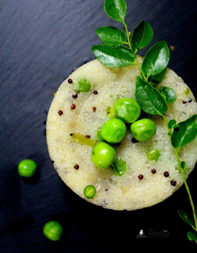Green Peas Upma.